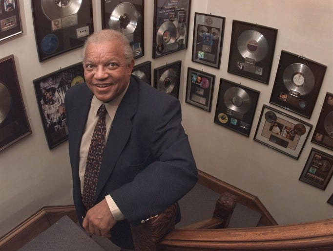 WDKX-FM (103.9) is a member of the 2014 class of the Rochester Music Hall of Fame. Pictured here is the late Andrew Langston, who founded the station 40 years ago. DKX stands for (Frederick) Douglass, (Martin Luther) King Jr. and (Malcolm) X.