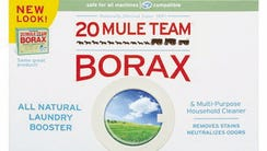 Borax, a popular ingredient in slime recipes for children,