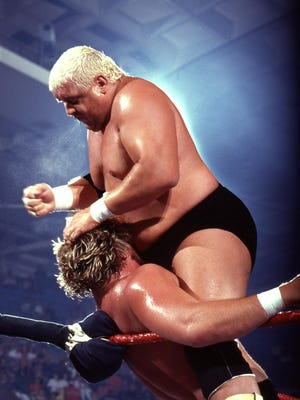 Dusty Rhodes in the ring