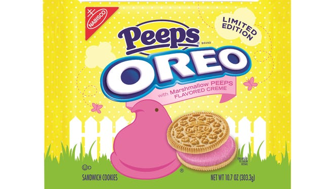 Oreo Peeps now available at Walmart.