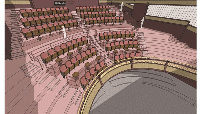 The Grand Oshkosh will have new Suite Seats for its 2017-18 season. They offer more space, legroom and beverage service before the show and during intermission.