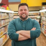 """Chef and television personality Guy Fieri is the host of """"Guy's Grocery Games."""" Delaware chef Robbie Jester competes in the finale tournament Sunday at 8 p.m."""
