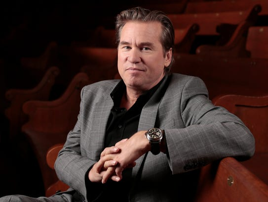 "Val Kilmer, the star of ""Batman Forever"" and ""The Doors,"""