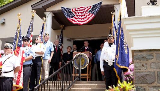 Memorial Day in Monsey, 2011.