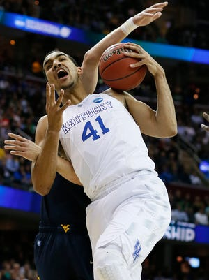 Trey Lyles is another part of Kentucky's formidable front line.