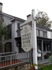 The Horace Greeley House in Chappaqua