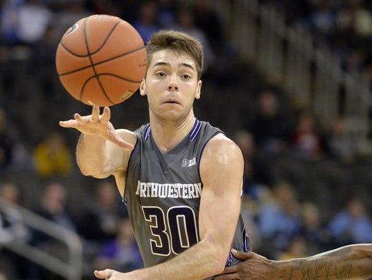 Northwestern guard Bryant McIntosh was ninth in the