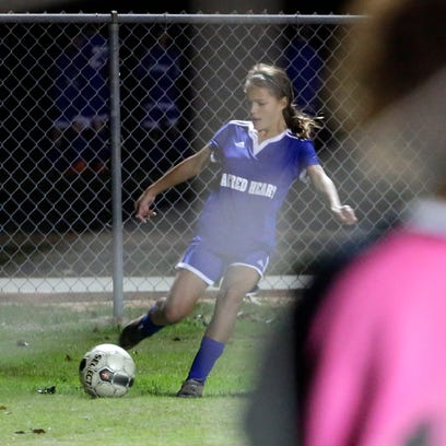 Sacred Heart's Olivia Ware, shown in a file photo,