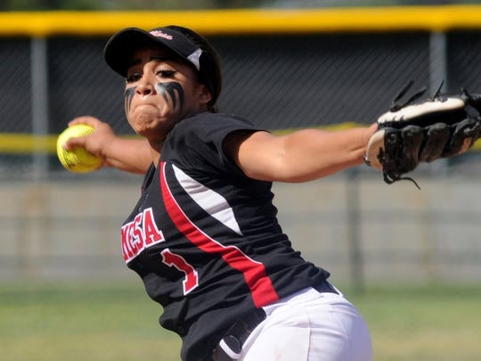 Rio Mesa's Taise Thompson was the MVP of the Pacific View League.
