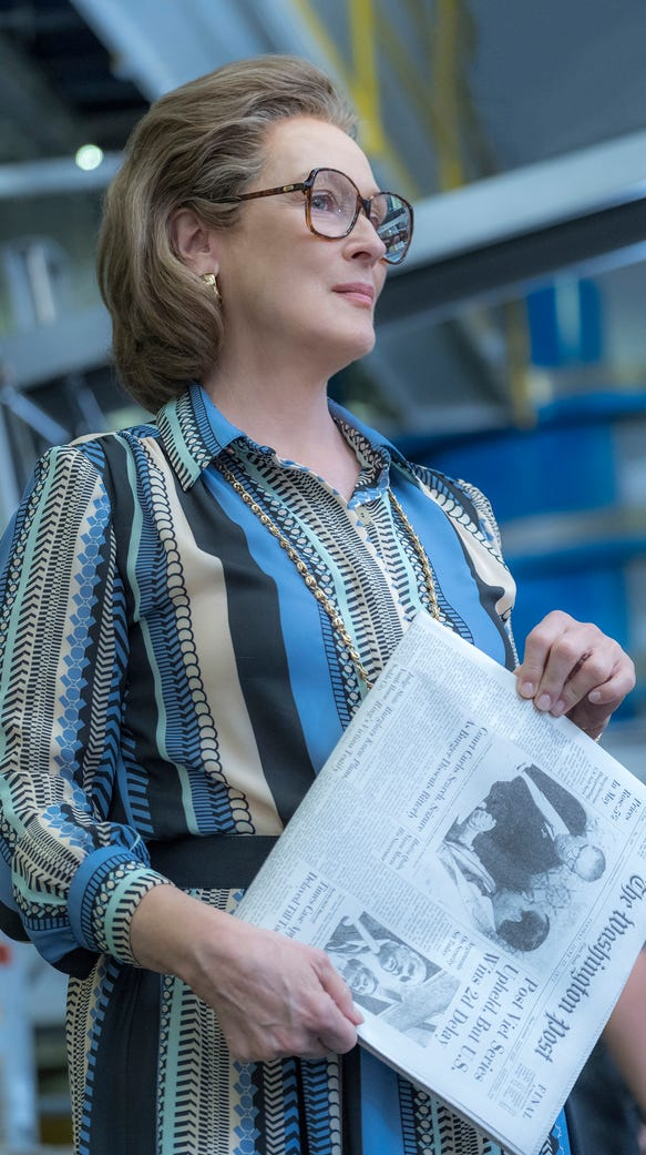 Meryl Streep portrays Katharine Graham in 'The Post.'