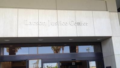Court appearances were rescheduled Monday for two Indio police officers accused of misconduct.