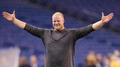 Want to own a little piece of a Colts player? Now's your chance. Stock in lineman Jack Mewhort is being publicly traded.