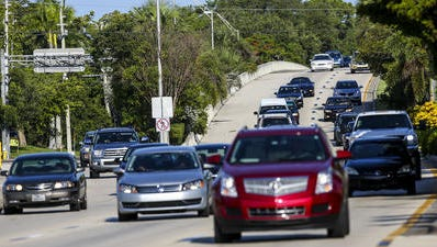 Cape Coral has a website to report traffic issues.