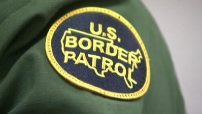 A U.S. Border Patrol patch, in many ways symbolic of the immigration debate.