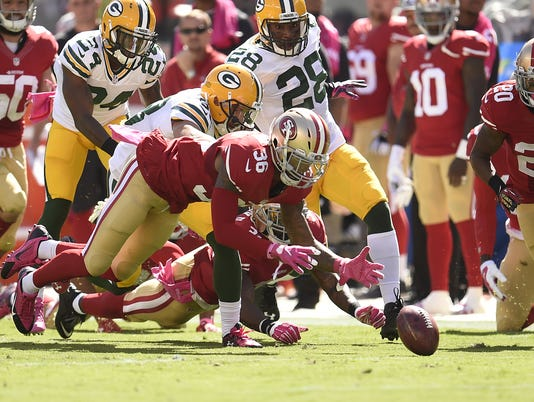Packers, 49ers