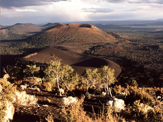 Sunset Crater Volcano National Monument, where nearly