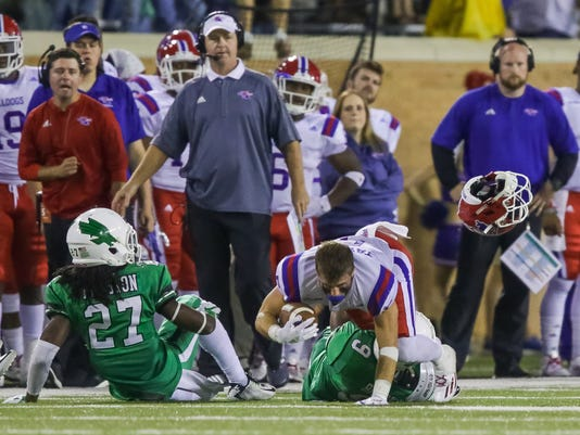 NCAA Football: Louisiana Tech at North Texas