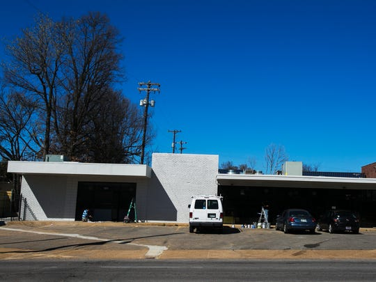 Construction continues at a new Railgarten at 2158 Central Ave. on Friday, March 10, 2017.