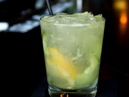 The White Sangria from Nevermind in Cape Coral.