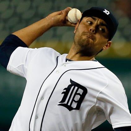 Tigers reliever Joakim Soria