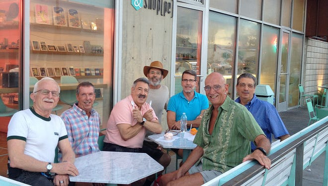One of the LKA group's recent outings was an ice cream social at the Arrive Hotel in Palm Springs.