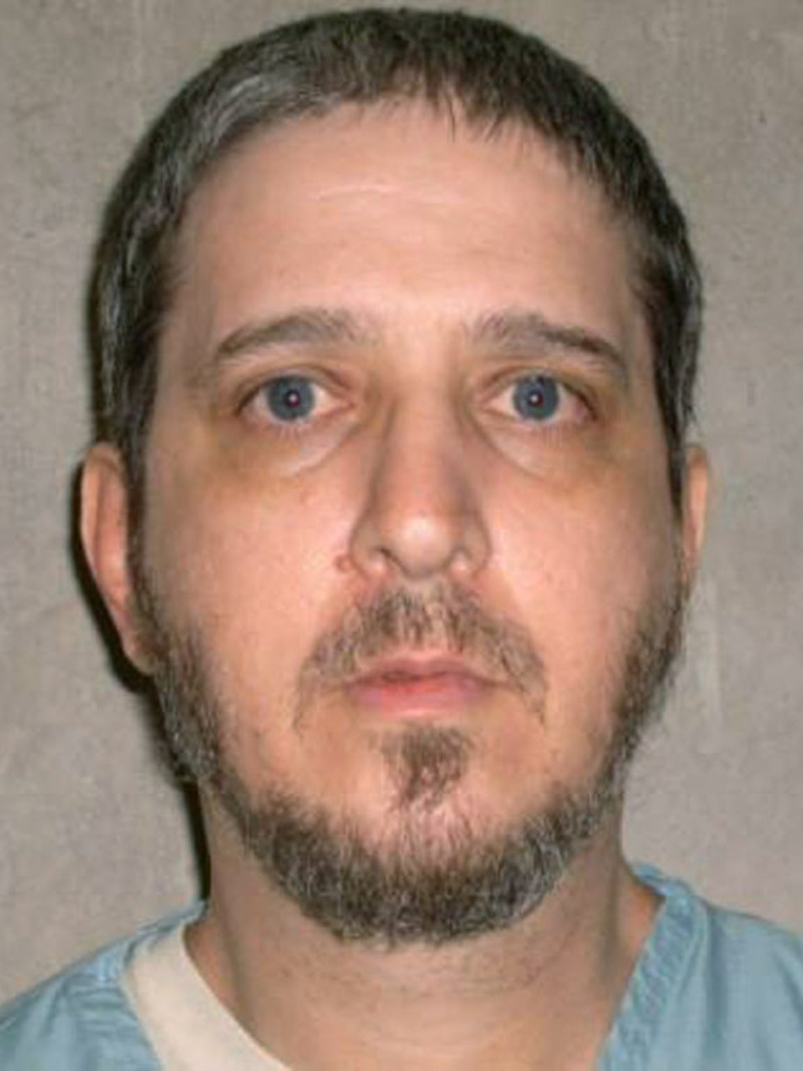 This file photo provided by the Oklahoma Department of Corrections shows death row inmate Richard Glossip.