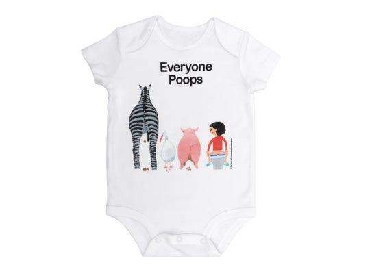 Everyone Poops bodysuit