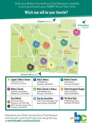 Donut Trail map.