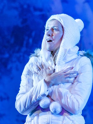 """Therese Barbato in Tony Kushner's """"Angels in America, Part One: Millennium Approaches"""" at Actors Theatre of Louisville."""