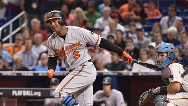 First-time All-Star Jonathan Schoop has taken his game to a new level in 2017 with a .303 average, 31 home runs and 103 RBI.