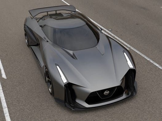 The rakish look of the Nissan Concept 2020 Gran Turismo could make it a highlight of PlayStation 6 when it arrives for download next month.