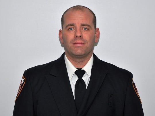 Ira Township Fire Chief Jason Keller.