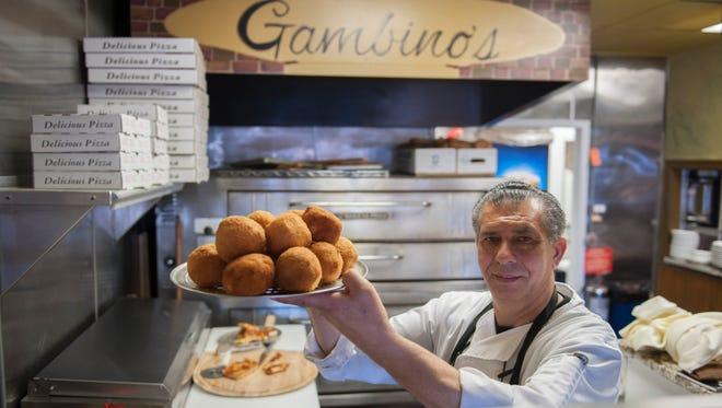 Giovanni (John) Gambino of Gambino's Italian Eatery in Cherry Hill.
