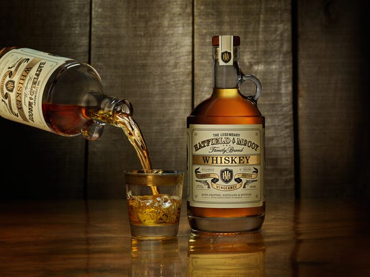 Hatfield and McCoy whiskey can be enjoyed straight,