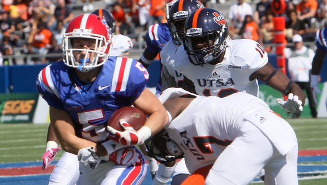 Louisiana Tech wide receiver said UTSA did a lot of trash talking during this 2014 game in Ruston.