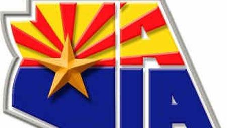 The Arizona Interscholastic Association logo.