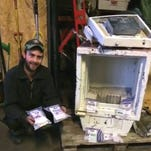 Recycling-plant worker finds $16K in trashed safe