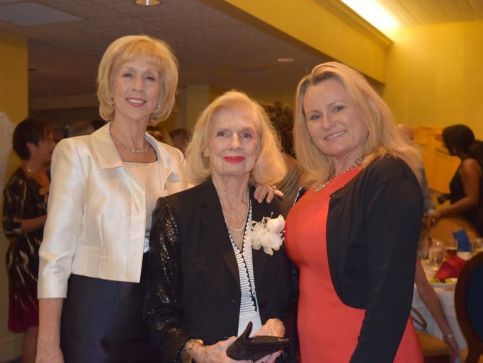 """Honoree Michel Doherty at 2014 Soaring Eagle Award Dinner Ceremony.Lee Republican Women's Club honored Doherty an """"outstanding Republican and Community Leader"""" Soaring Eagle Award on Saturday, May 17th at the 2014 Soaring Eagle Award Dinner Ceremony held at the The Landings Helm Club in Fort Myers."""