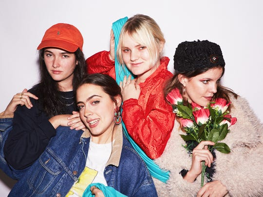 "Hinds have released ""The Club"" from a sophomore effort"