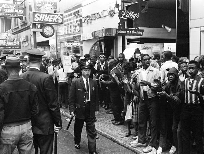 the civil rights movement of 1964 Expanded the enforcement powers of the civil rights act of 1957 and introduced criminal penalties for obstructing the implementation of civil rights act of 1964.