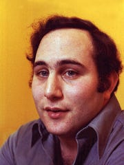 "Serial killer David Berkowitz, also known as ""Son of Sam,"" the .44 caliber killer whose shooting spree terrorized New York City in 1977, is shown during an interview at Attica Prison, Attica, N.Y., Feb. 22, 1979."