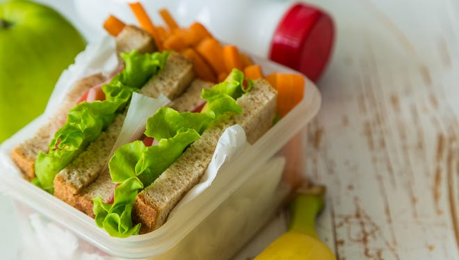 Focus on foods from as many different food groups as possible when packing your child's lunch.