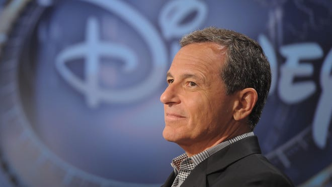 "Disney CEO Robert Iger visits FOX Business Network's ""Markets Now"" at FOX Studios on September 24, 2013 in New York City."