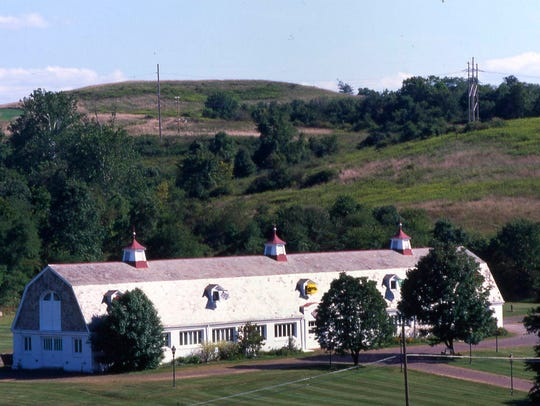 The Dairy Barn in Athens, Ohio, a popular attraction