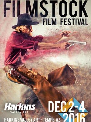 Poster for the 2016 Filmstock Film Festival