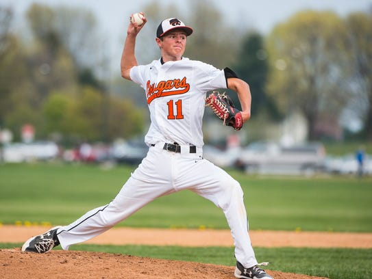 Palmyra's Brian Coburn is off to a good start in his