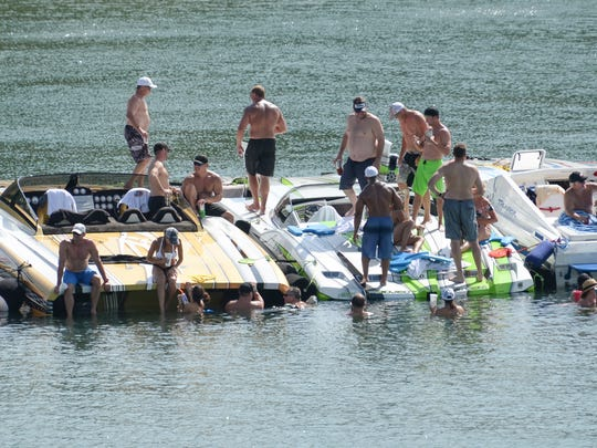 Meals on Wheels of Anderson County annual Poker Run at Big Water Marina in Starr on Friday.