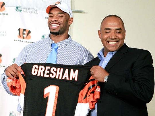 In 2010, the 21st overall draft pick was tight end Jermaine Gresham.