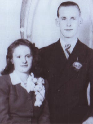 Marvin and Beatrice Beilfuss were married Sept. 22, 1946
