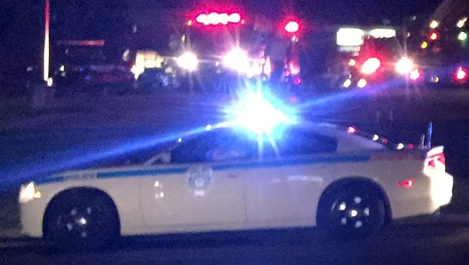 Jackson police and firefighters are shown in this file photo.